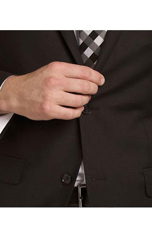 D9 Black Travel Suit trousers