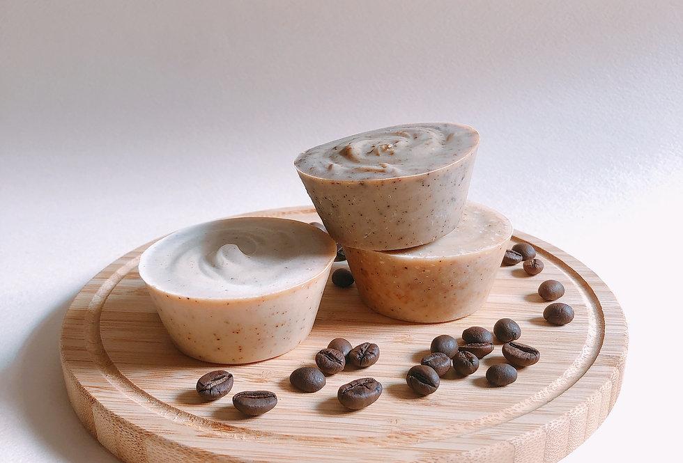 Soap Yummy「紐約早晨」原味咖啡磨砂皂
