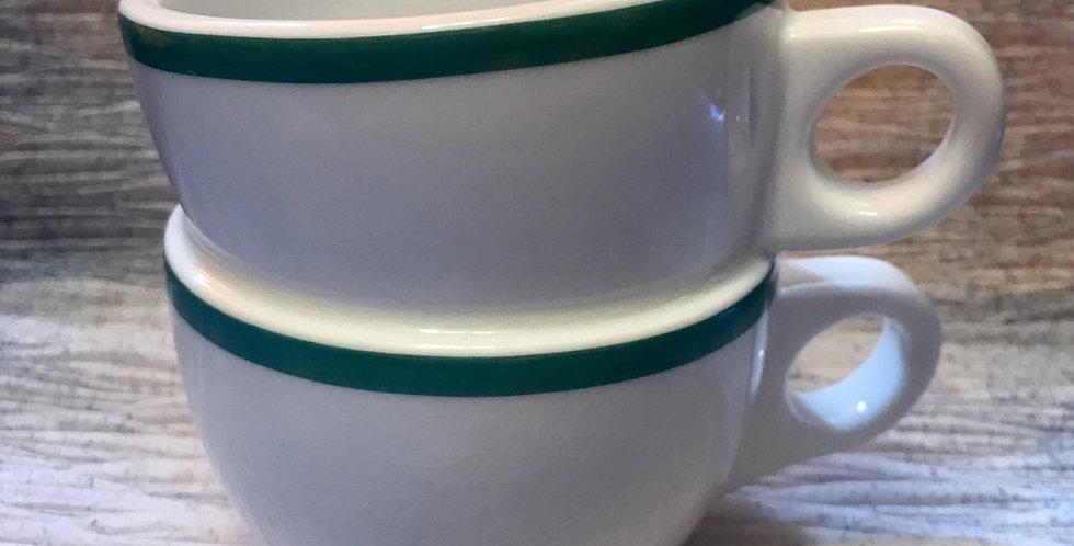 綠色「鴛鴦杯」- 陶藝家李慧嫻設計
