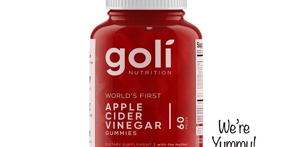 goli 有機蘋果醋軟糖 Apple Cider Vinegar Gummies (60粒 Pieces)