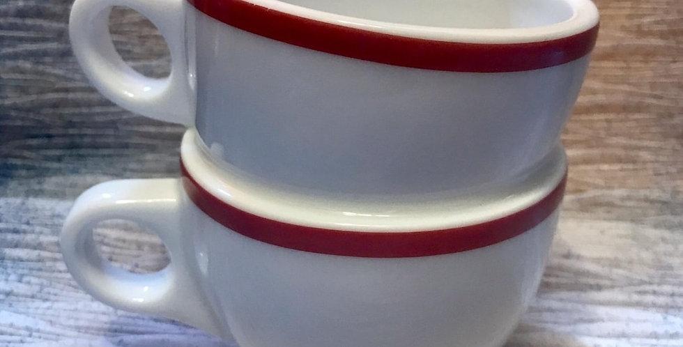 紅色「鴛鴦杯」- 陶藝家李慧嫻設計