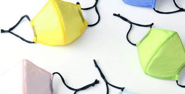 MaskingArt 強效防護輕薄透氣口罩 | BFE 97.3% | 糖果淨色系列