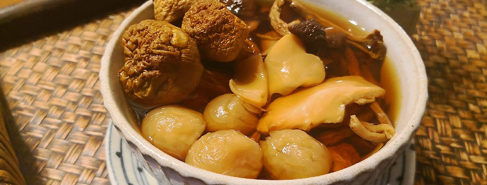 姬松茸茶樹菇螺片湯Gran-O-Soup養生焗湯