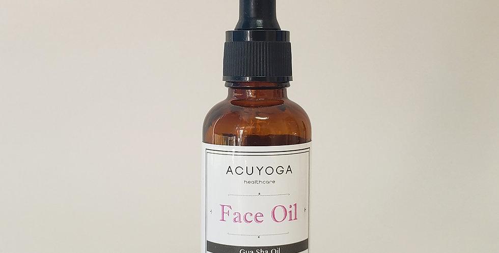 """*加薑版""""Acuyoga乳香天竺葵臉部按摩油 Face Massage Oil (30ml)"""