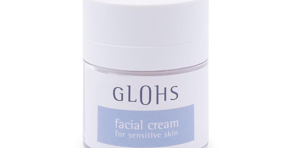 GLOHS Facial cream for sensitive skin
