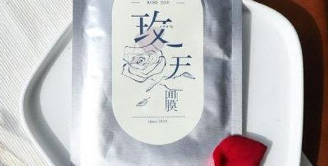 大花有機農場玫瑰玫天面膜 (5片散裝)