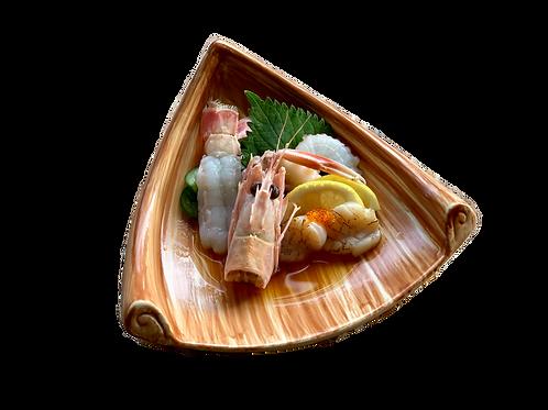 Seafood Sashimi Trio with Umi Dressing