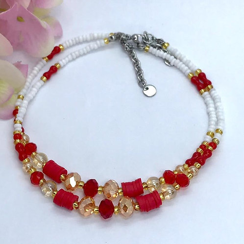 Chinese New Year Ankle Bracelet