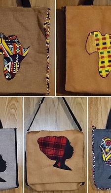 Embelished Canvas Should Bags