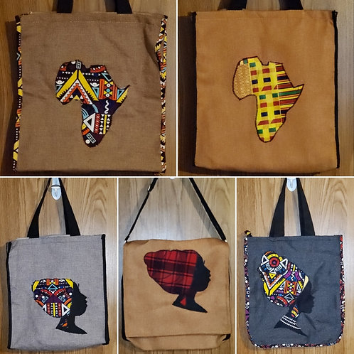 Embelished Canvas Should Bags