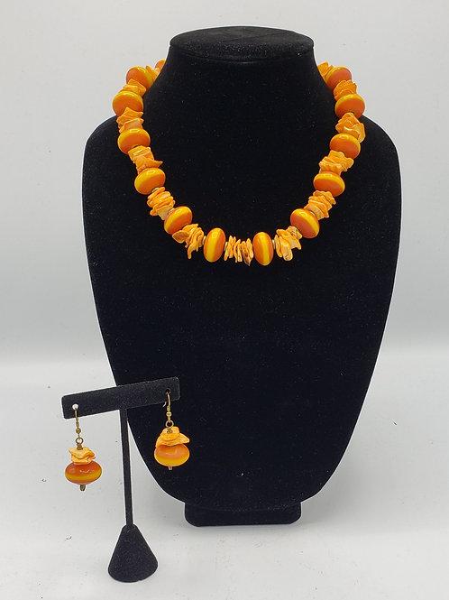 Amber & Orange