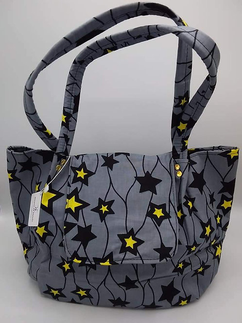 Starry Gray Handbag