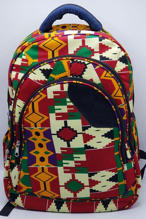 Oversized Backpack Aztec Design