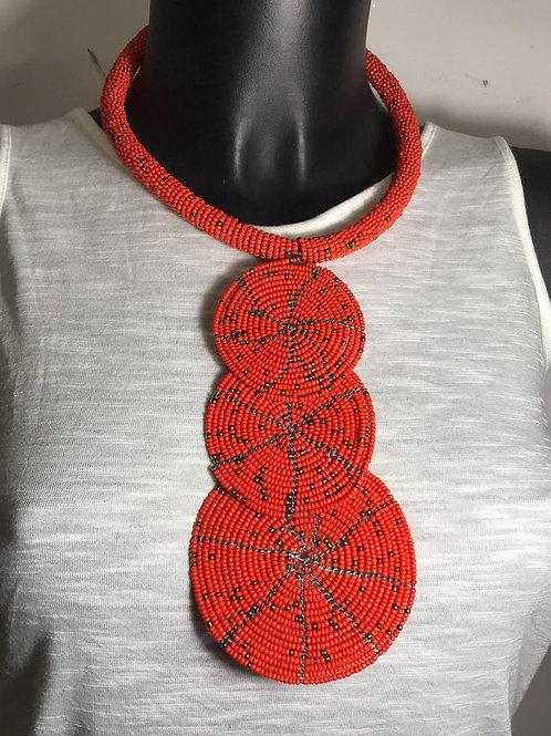 Triple Pendant Necklace