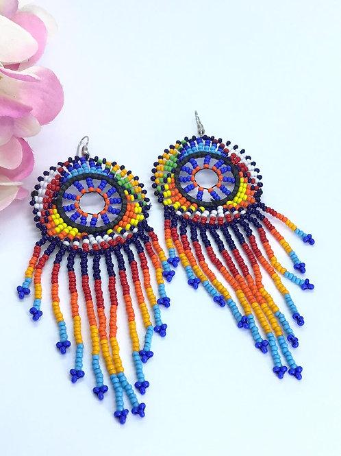 Ombre Dream Catcher Earrings