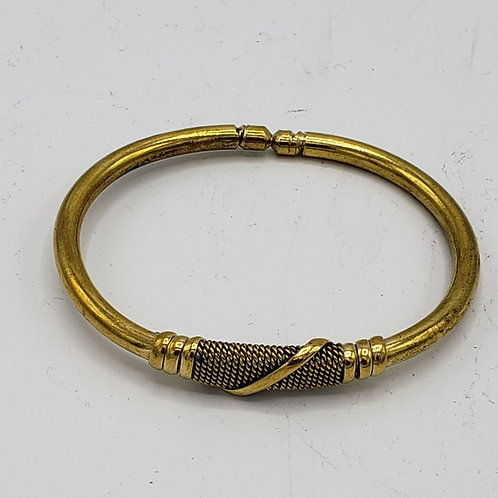 Adjustable Brass Bracelet