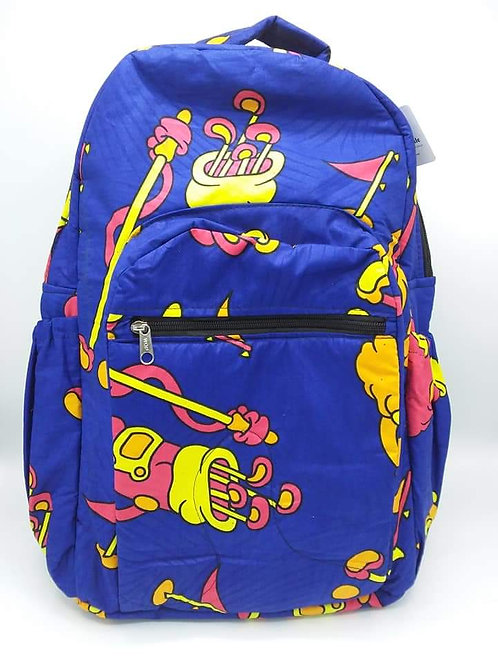 Golf Club Print Backpack