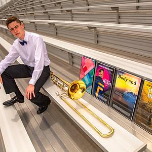 Austin Mecham Senior Photos
