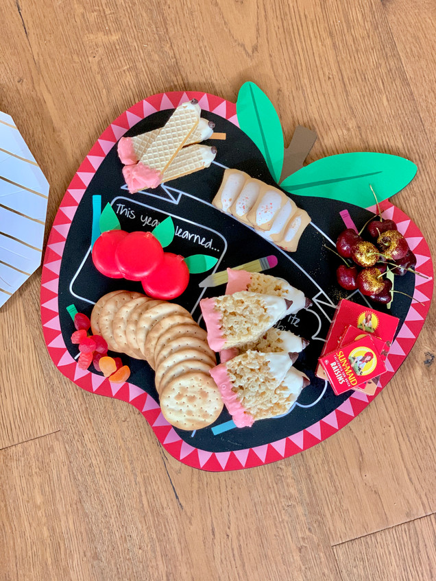 Back to School Snack Board