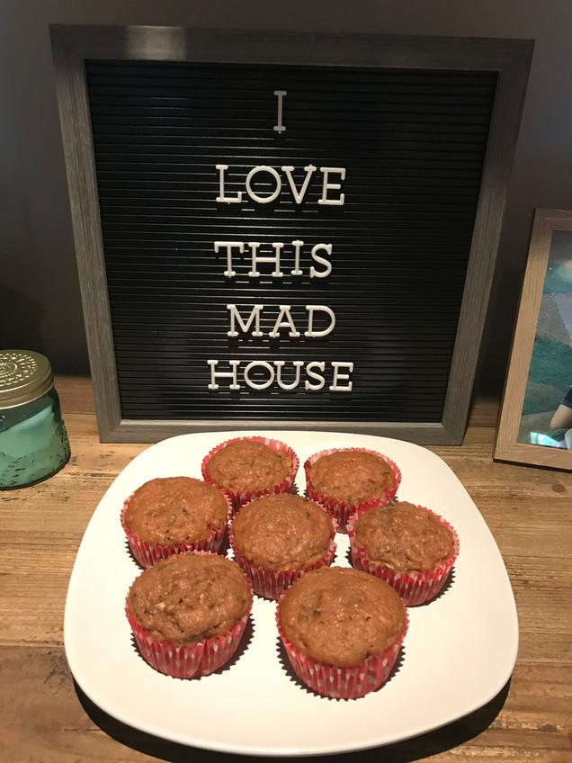 Hidden Veggie Carrot Cake Muffins