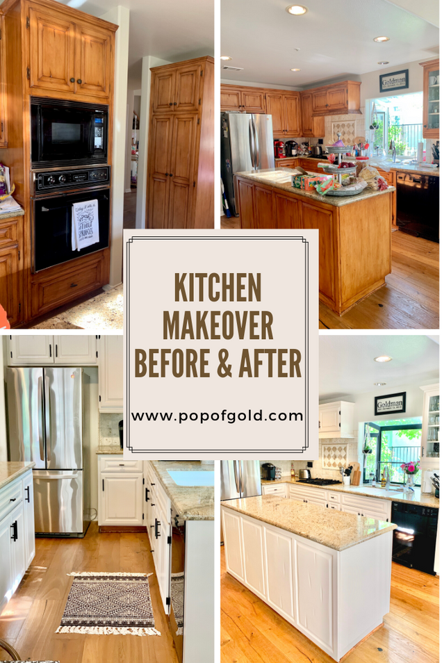 How to Make Over your Kitchen - Painting Cabinets