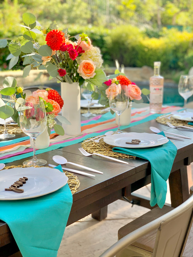 How to Throw a Chic Party with 99 Cent Streamers