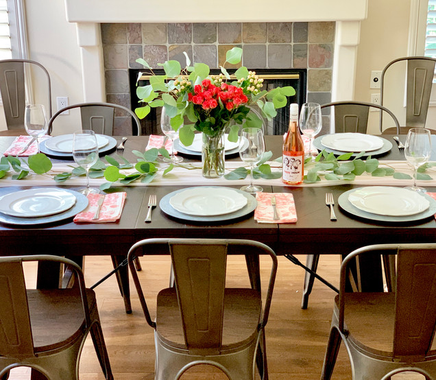 Transitional Fall Dining Table