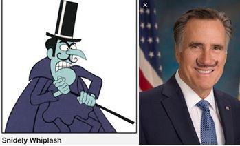 Snidley Whiplash & Snidley Romney G