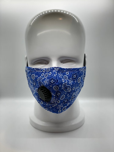3-Layer Cotton Face Mask with 5-ply Carbon Protection Filter(PM2.5)