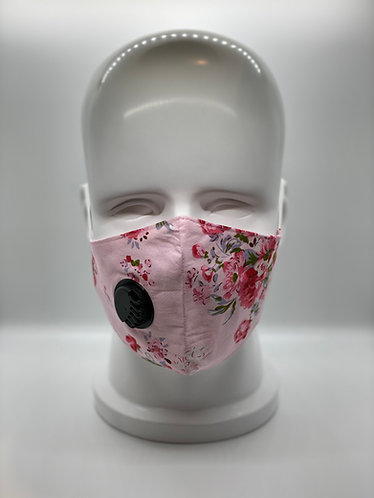 Fashionable 2-Layer Cotton Face Mask with 5-ply Carbon Protection Filter(PM2.5)