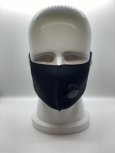 Comfortable Spandex Face Mask with Exhalation Valve