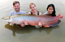Arapaima catch by Thailand-Fishing