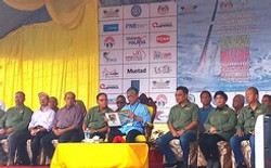 Malaysia government opens the tournament