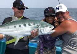 Big fun by fishing.