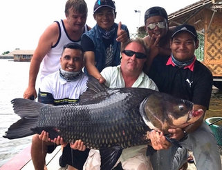 Malaysia friends with Giant Siamese Carp
