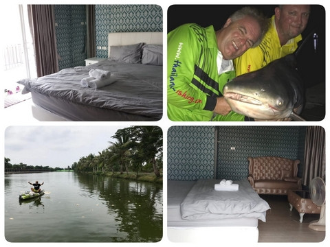 Lovely Bungalow on the Arapaima Monster lake.