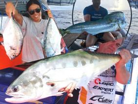thailand-fishing 24 hour trip catch at ocean fishing pattaya.