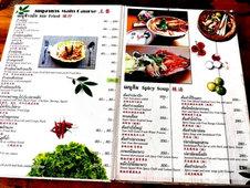 Price list Restaurant