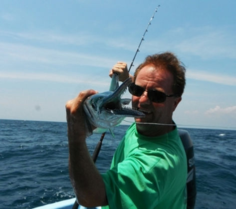 Garfish /Pla Tek Leng /  Belonidae / catch by Thailand-Fishing.