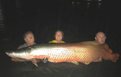 Monster Arapaima fishing-thailand.