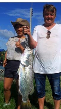 Thailand-Fishing with Barramundi