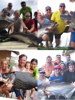 Fun with fishing in thailand.