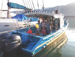 Malaysia Sailfish Boat