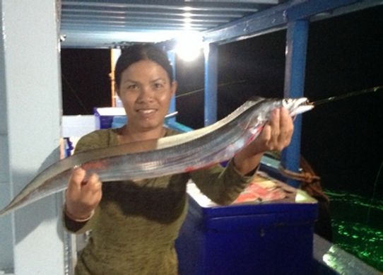 Large head Fish / catch by Thailand-Fishing.