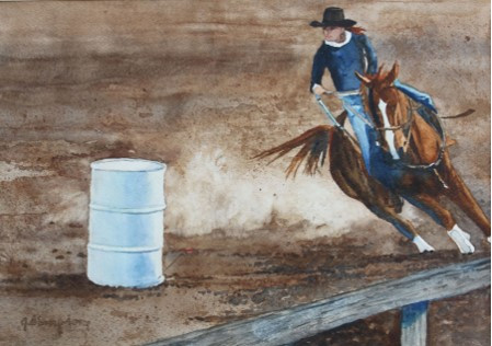 Eyes on the Prize (Rodeo Series) 18.5 X