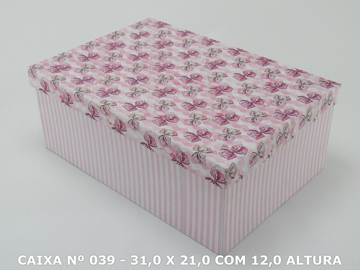 CAIXA Nº 039