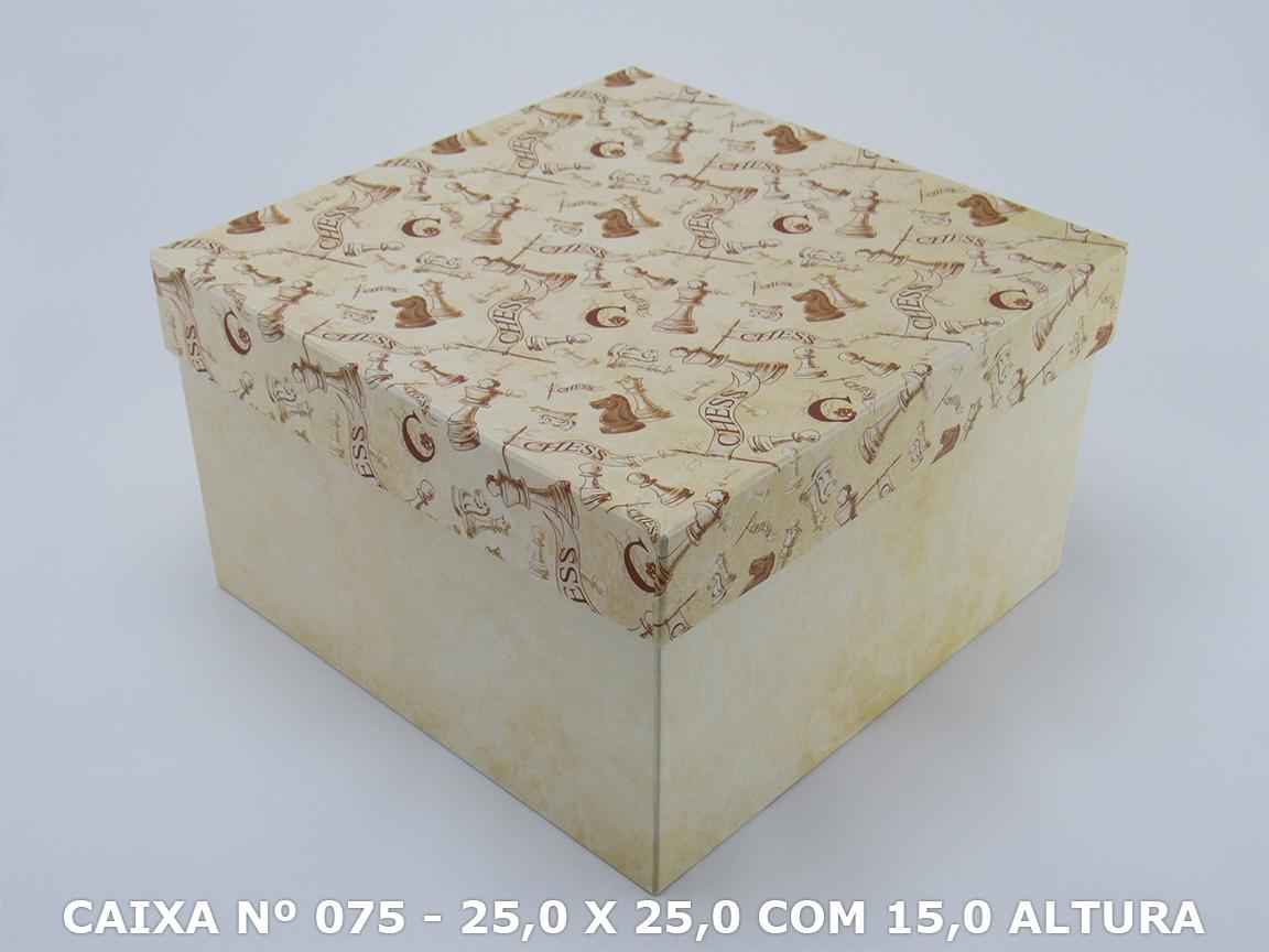 CAIXA Nº 075