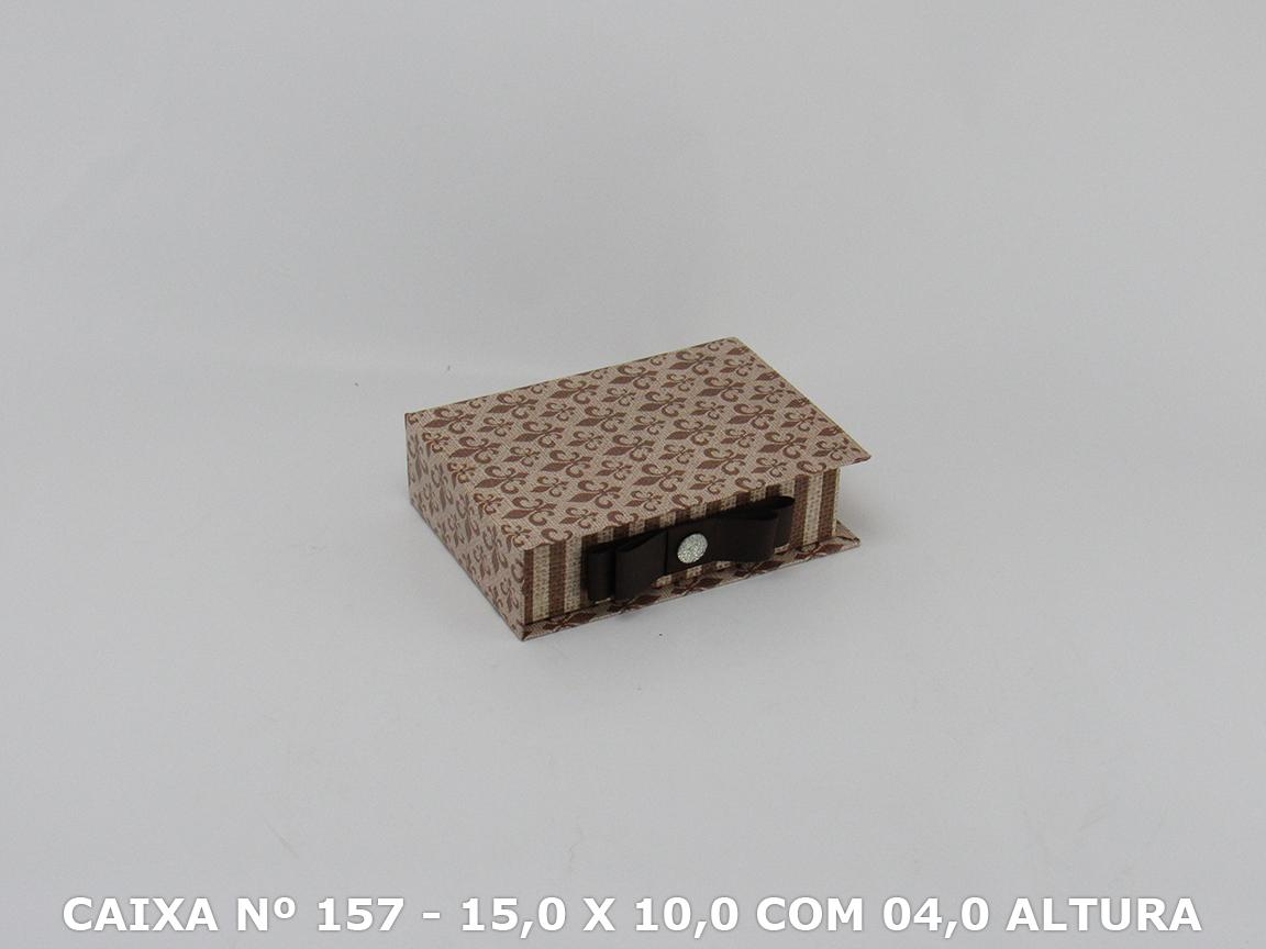 CAIXA Nº 157