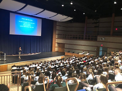 Dr M. Susan Scanlon, MD high school lect