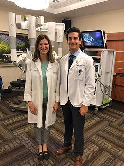 Dr M. Susan Scanlon, MD Robotic Surgeon.